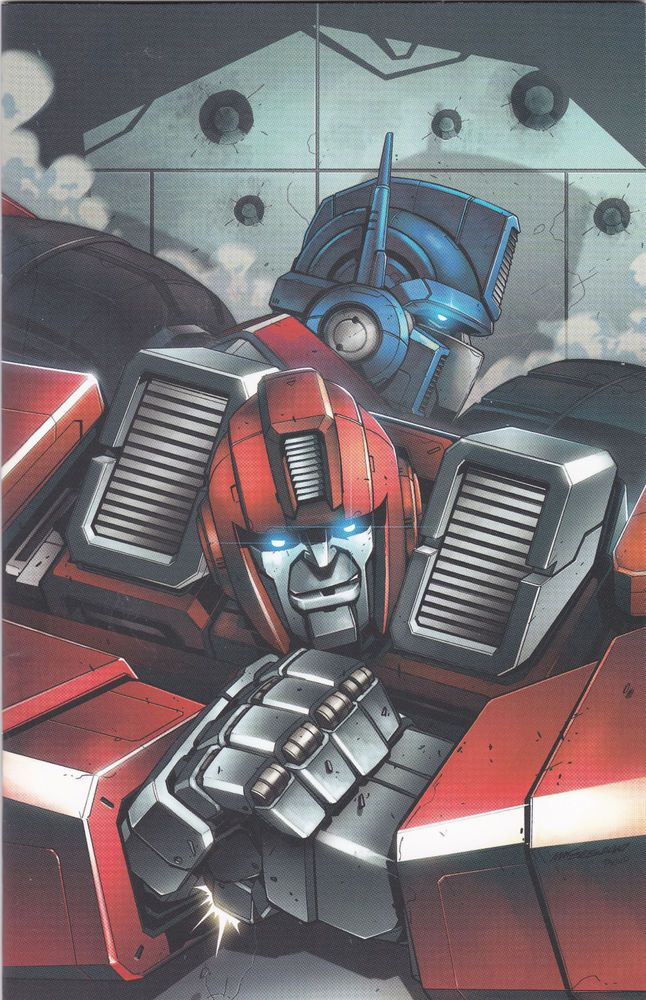 Transformers Ironhide #1 NM Marcelo Matere Virgin Variant  IDW Comics SCARCE