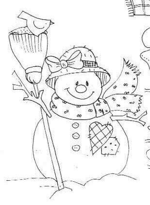 ARTE COM QUIANE - Paps e Moldes de Artesanato : 63 riscos de Natal para você