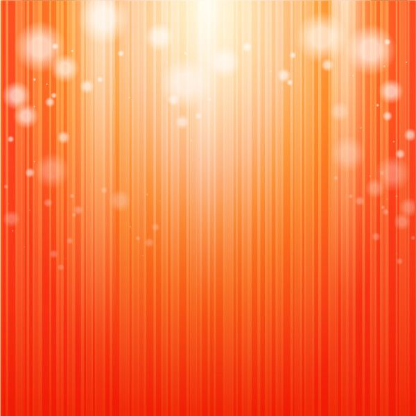 fondo naranja con luz
