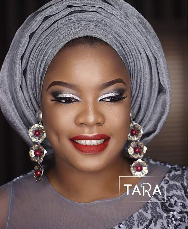 Pin By Gagan Sandhu On Bridal Inspo: Traditional Bridal Makeup Inspo For Arese Ugwu By House Of