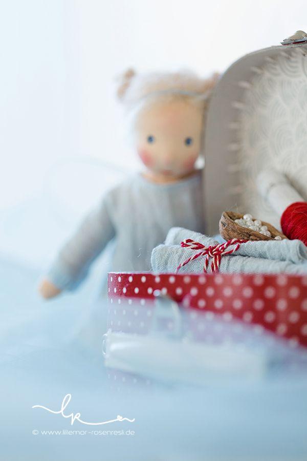 Puppenwerkstatt, Waldorfpuppen-Werkstatt, Elfchen, Däumelieschen-Elfe, Daniela Drescher, acufactum