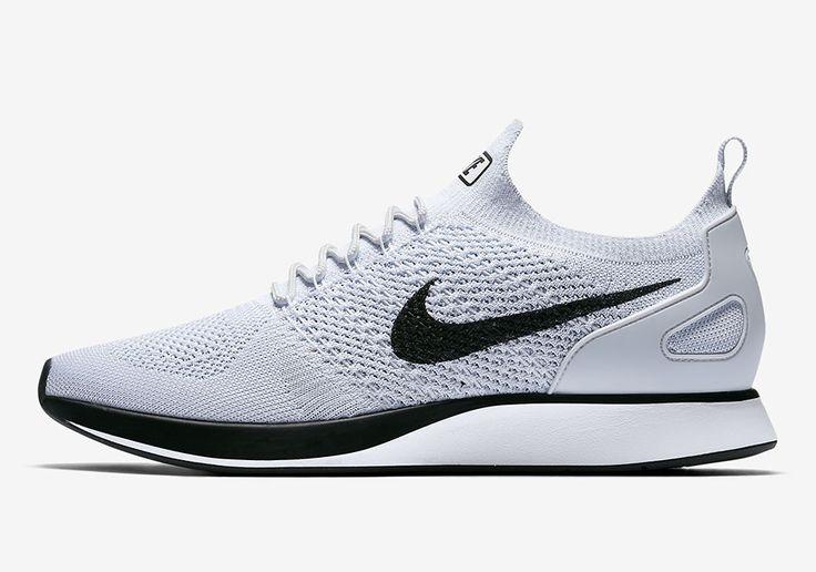 #sneakers #news  Nike Zoom Mariah Flyknit Racer Releasing In Clean White And Black