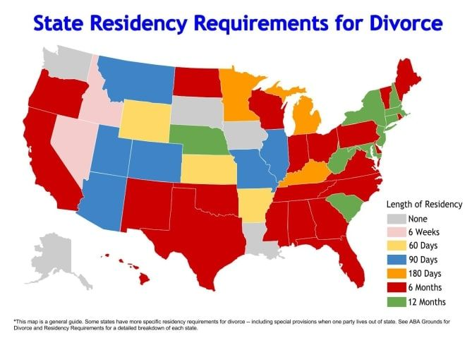 California Divorce Residency Requirements Where To File Your Divorce When Filing A Petition For Dissolution Divorce Mediation Divorce Failed Relationship