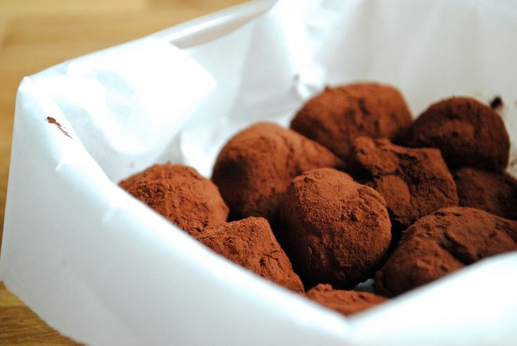 Melt-in-your-mouth chokoladetrofler Anne Au Chocolat