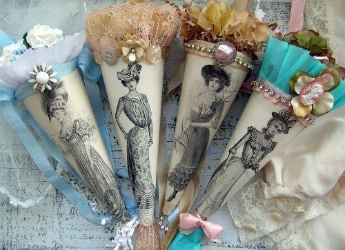 Victorian Tussie Mussies