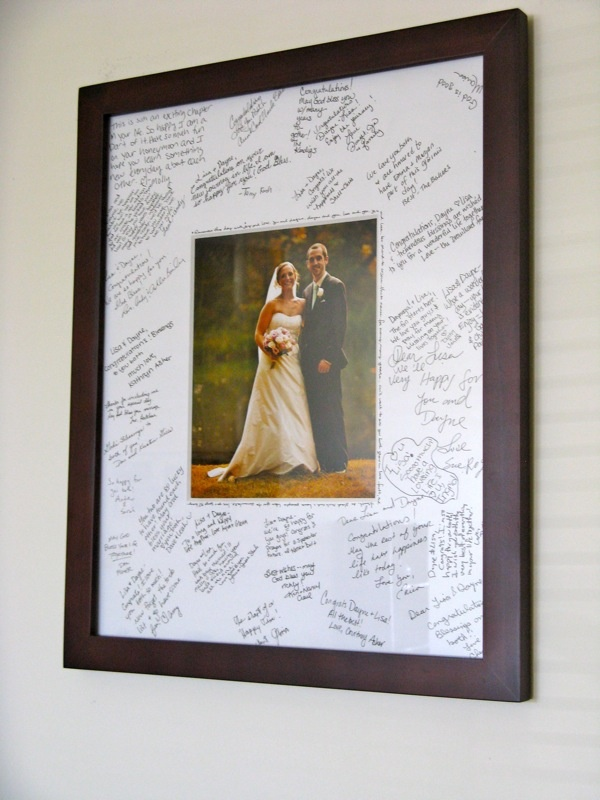 """our wedding """"guestbook"""""""