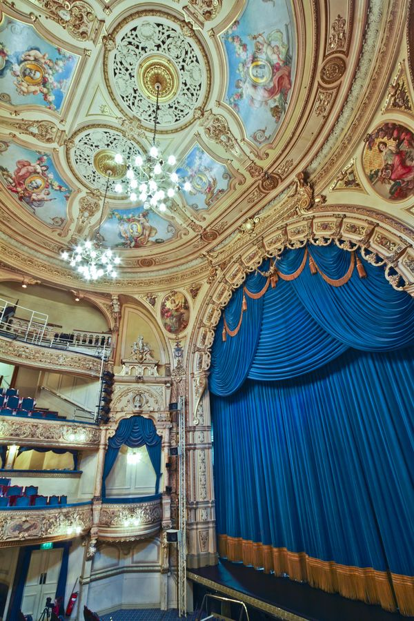 Grand Theatre Blackpool in Blackpool, Lacashire, England by Michael Beckwith via 500px