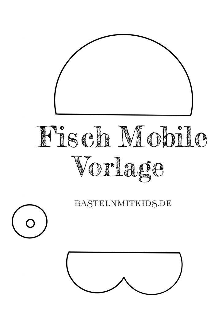 Fisch Basteln Fur Ein Mobile Basteln Mit Kindern Mobile Basteln Mit Kindern Fische Basteln Fische