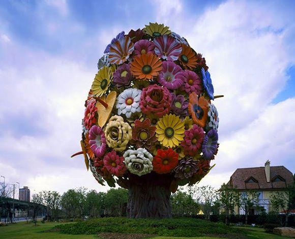 Flower Tree, Jeong-Hwa Choi 2011