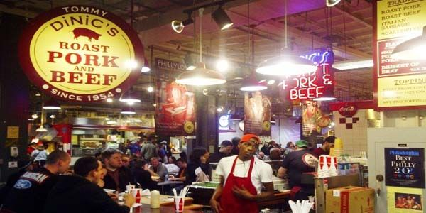 DiNic's Roast Pork & Beef at Reading Market Terminal (PHILLY)