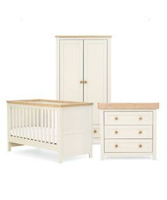 Lulworth 3-piece Nursery Furniture Bundle http://www.parentideal.co.uk/mothercare---nursery-furniture-sets.html