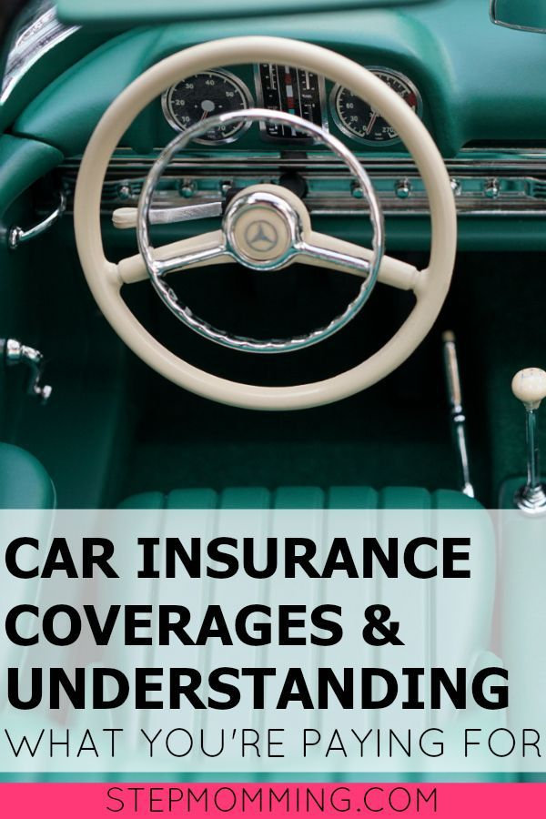 Car Insurance Coverages Explained Educate Yourself Car