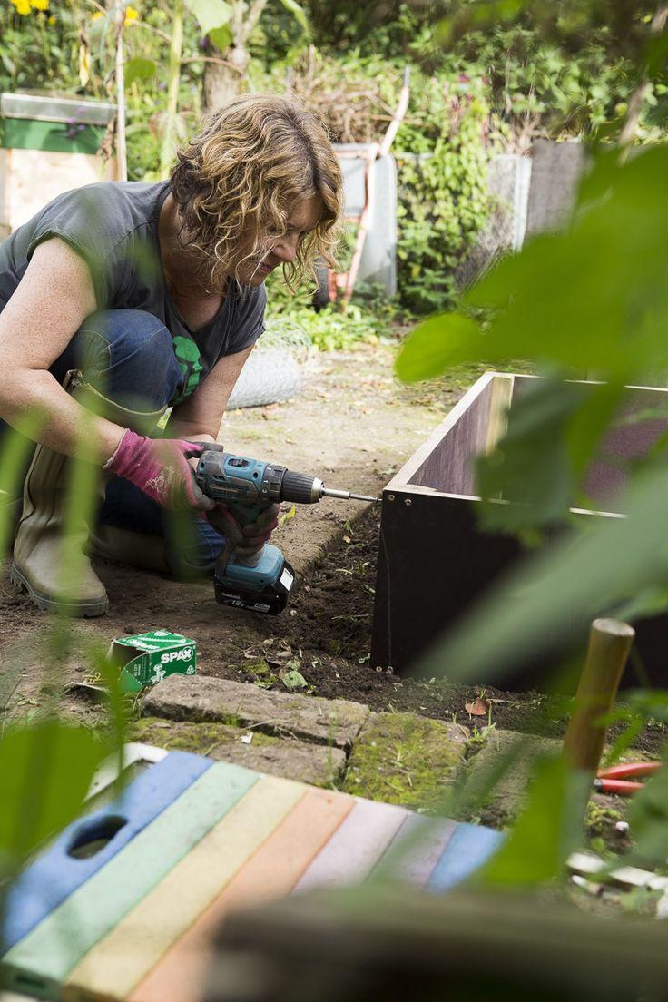die besten 17 ideen zu hochbeet bauen auf pinterest selber bauen diy gardening und. Black Bedroom Furniture Sets. Home Design Ideas