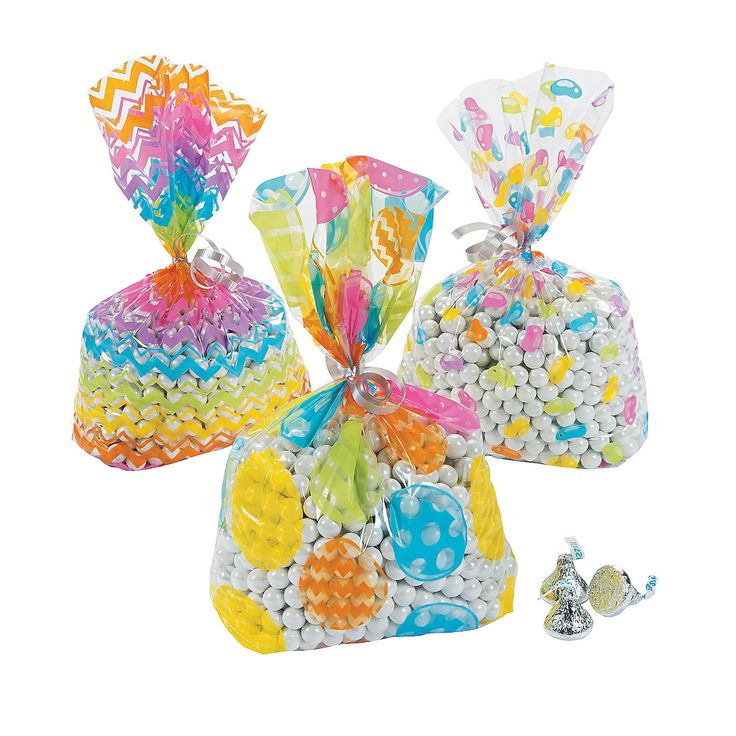 11 best easter bags treats for v 5 images on pinterest easter easter cellophane cellophane bags assortment negle Choice Image