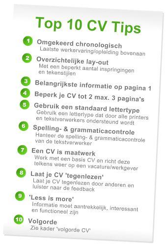 CV Tips voor medische vacatures