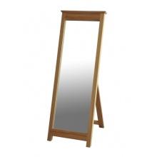 Canterbury Solid Oak MNM40 Cheval Mirror