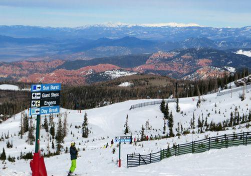 Brian Head Peak side of the resort