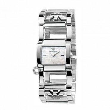 Γυναικείο quartz ρολόι EMPORIO ARMANI σαν ατσάλινο μοντέρνο βραχιόλι | Γυναικεία ρολόγια EMPORIO ARMANI στο κοσμηματοπωλείο ΤΣΑΛΔΑΡΗΣ στο Χαλάνδρι #Emporio #Armani #ατσαλι #μπρασελε #ρολοι