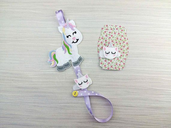 Unicorn Hair Clip Holder unicorn holder barrette clip