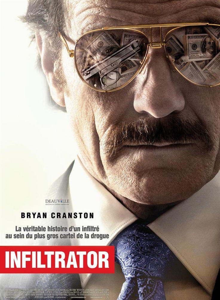 """ The Infiltrator"" (2016) starring Bryan Cranston and John Leguizamo"