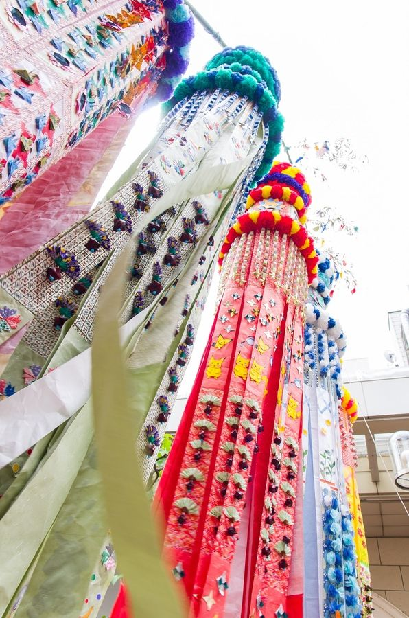Sendai tanabata festival, Japan - I never seem to be able to visit Sendai when this festival is going on. Got to make one day! #Sendai #Tanabata