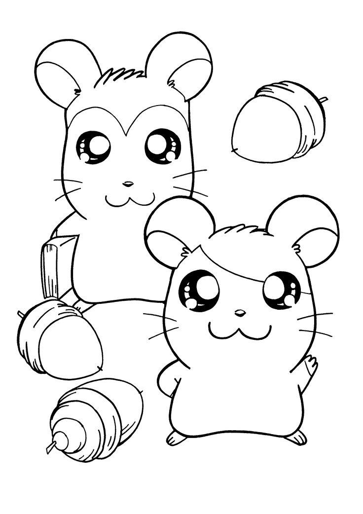 20 melhores imagens de hantaro no pinterest hamtaro for Hamtaro coloring pages