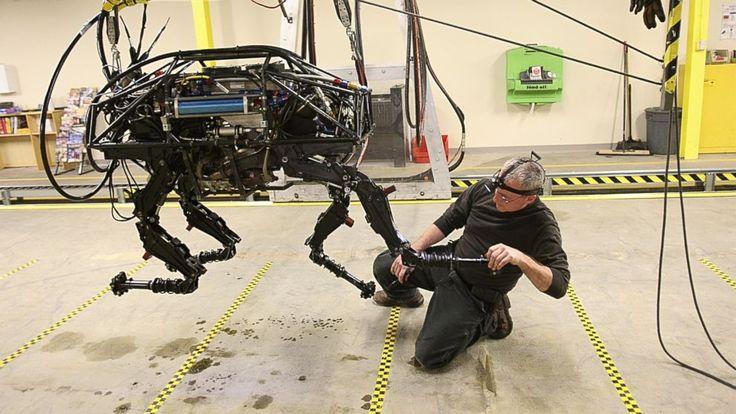 Rencana Google Bikin Robot Makin Nyata