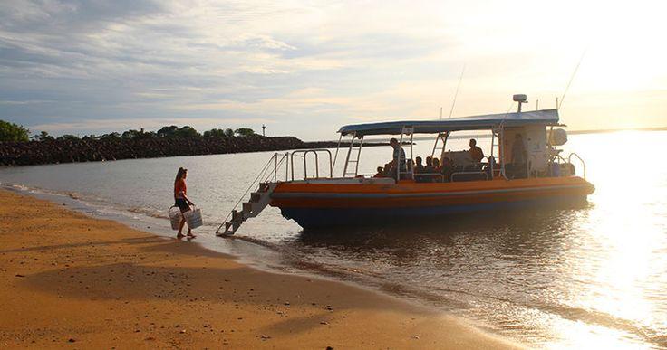 Sunset Fish'Chips in Darwin