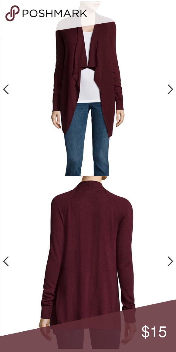 Maroon cardigan Cute long cardigan. Sweaters Cardigans