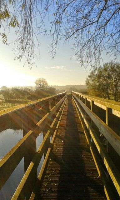 Eye bridge Pamphill...photo my own