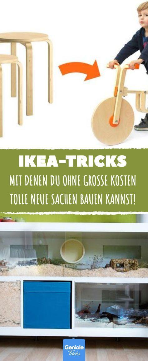 10 geniale Ikea-Tricks, mit denen du ohne große Kosten tolle neue