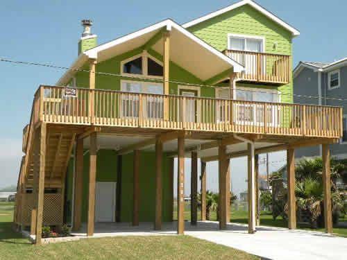 Galveston Beach House Rental - Ike's Revenge