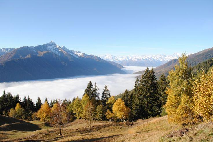 La valle Vigezzo in autunno