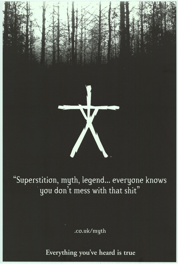 The Blair Witch Project...the only movie that REALLY scared me.....