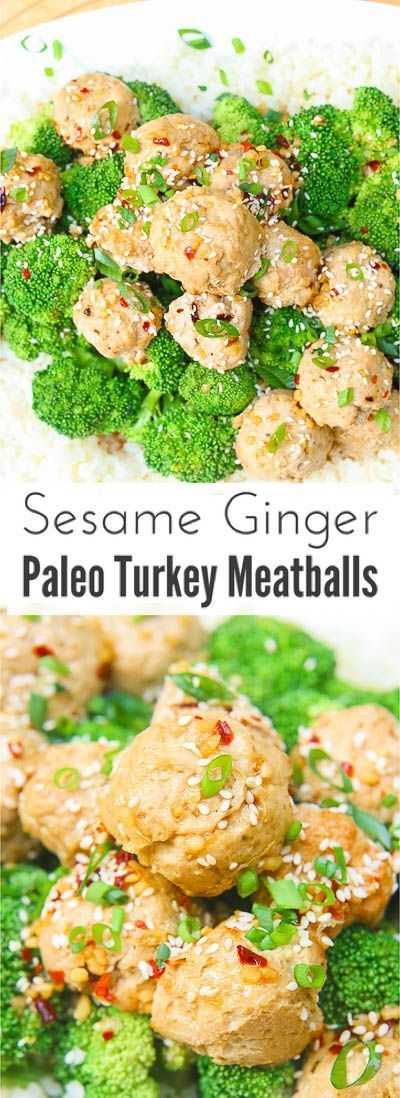 of homemade sweet and zesty sesame ginger sauce and topped with sesame ...
