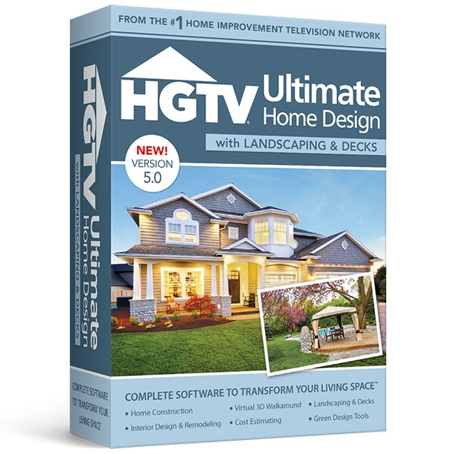 HGTV Ultimate Home Design With Landscaping & Decks V5 Home
