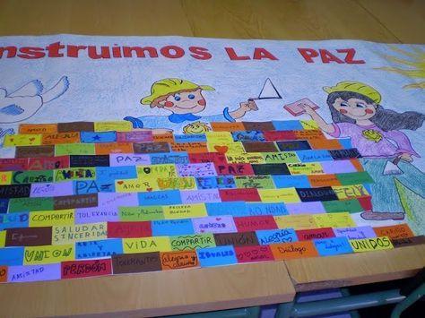 """Se acerca el Día de la Paz y en mi colegio ya hemos decidido la actividad grupal del día 30, bajo el lema: """"Construimos la Paz"""". El año pasado realizamos…"""