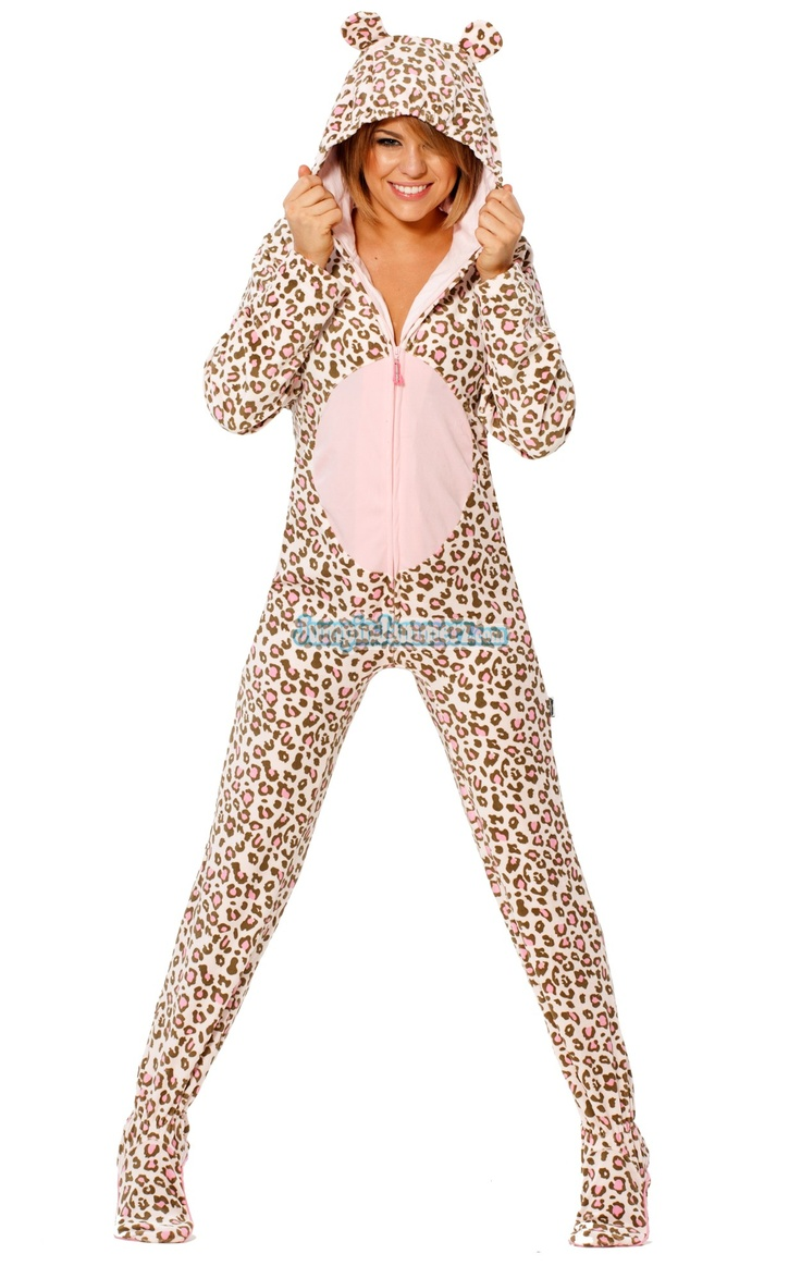Footed Costume Pajamas - Our Pink Giraffe Jammerz are loaded with extras- Realistic giraffe markings, Hoodie and embroidered eyes attached to the top of the hood. Made from soft polar fleece, Preshrunk and fully machine washable. ... Get Your Jamz on today. $49.99