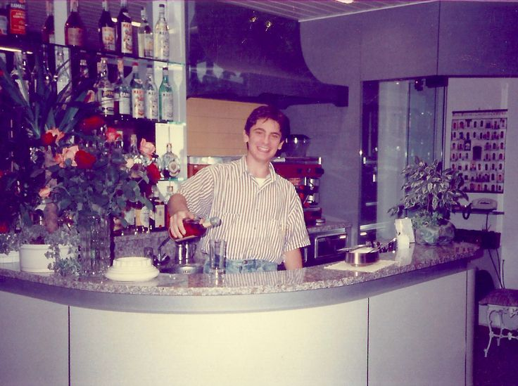#HotelRudyCervia in the '90s: Domenico
