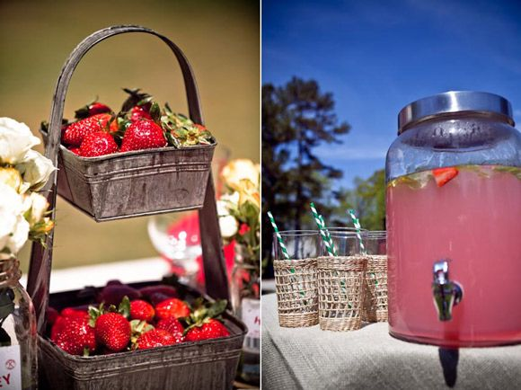 Inspired Creations   Strawberry Farm Wedding Inspiration. Small Country ...