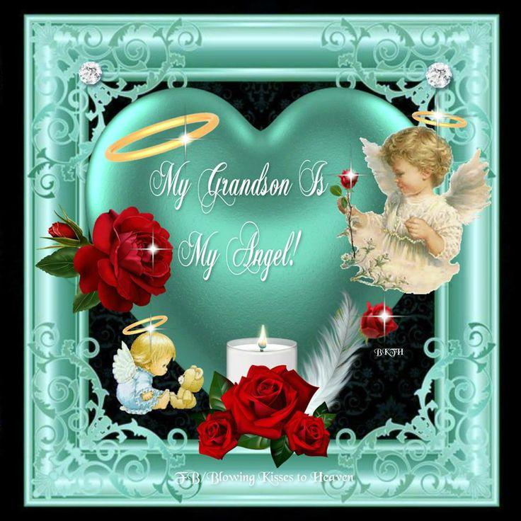 My Grandson Is My Angel Love You Braeden James 3 14