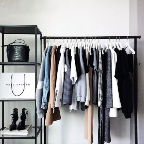 clothes rack tumblr - Google Search | MYFUTUREHOUSE | Room ...