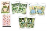 Majas Alfabetsspel är ett perfekt innehåll till ett barn i alfabetsåldern att få i stället för godis i påskägget!