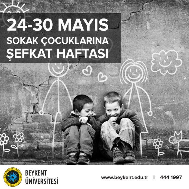 Çocuklar sokakların değil, sokaklar çocukların. Onların yanında olup eğitimlerine katkıda bulunalım, tüm sokaklar oyun bahçeleri olsun.
