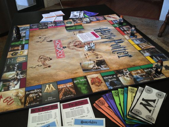 Harry Potter Monopoly Printables Pinterest My Life