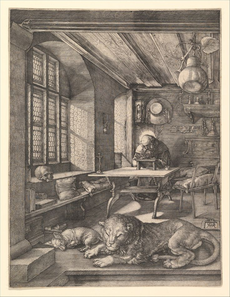37 Best St Jerome In His Study Images On Pinterest St