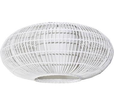 Lumi 60 Rattan Shade - White, Earth Lighting, New Zealand's Leading Online Lighting Store