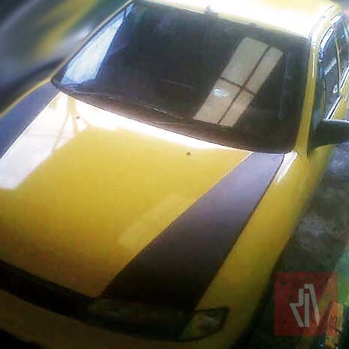 Kuning full wrapping sticker mobil bandung pro www.mangele.com 081227722792