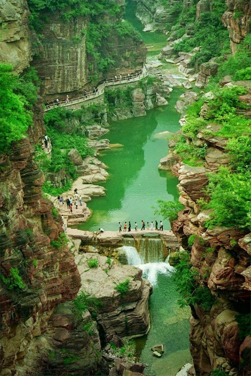 Yuntaishan Global Geopark of China