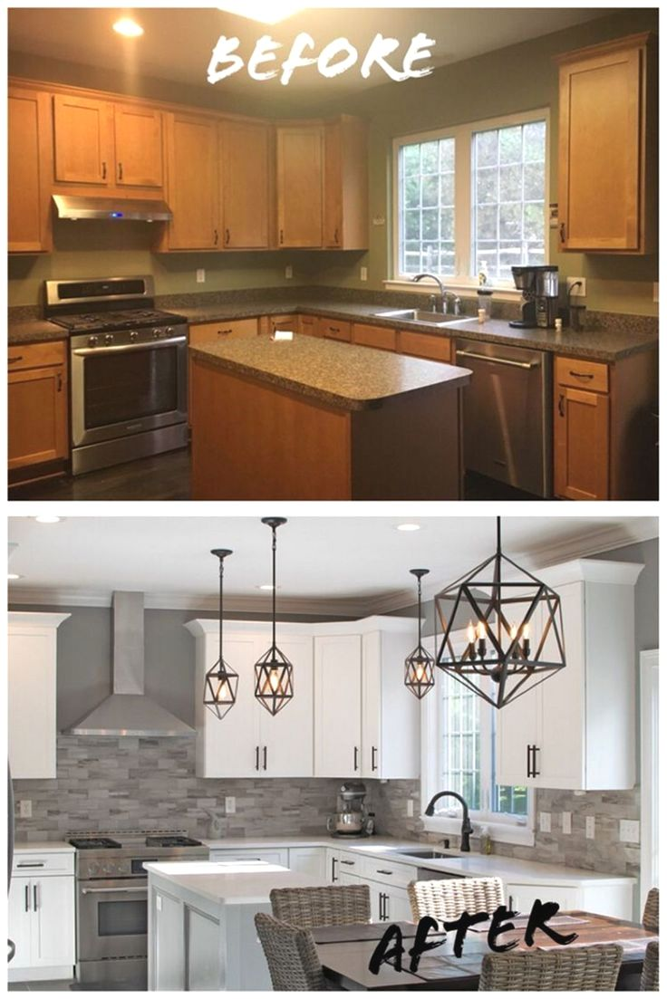 Kitchen remodel ideas with before and after picture in 9 ...
